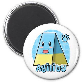 Kawaii Agility A-Frame 2 Inch Round Magnet