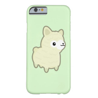 Kawaii alpaca barely there iPhone 6 case
