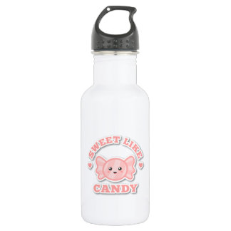 Kawaii and Sweet Like Candy Water Bottle
