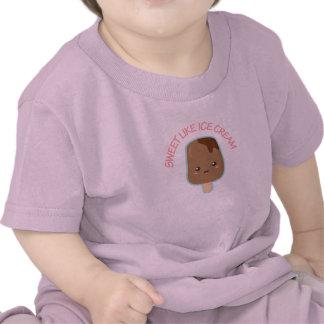 Kawaii and Sweet Like Ice Cream Tshirts