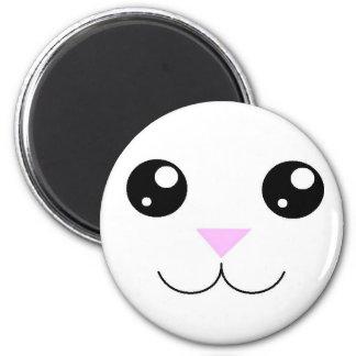 Kawaii Animal Face Magnet