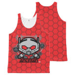Kawaii Ant-Man Graphic All-Over-Print Tank Top