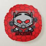 Kawaii Ant-Man Graphic Round Pillow