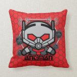 Kawaii Ant-Man Graphic Throw Pillow