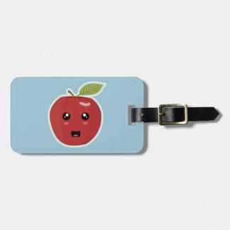 Kawaii Apple Bag Tag
