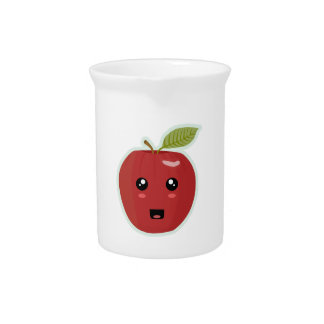 Kawaii Apple Beverage Pitcher