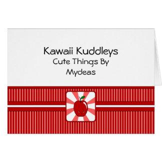 Kawaii Apple (Boy) Card