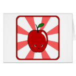 Kawaii Apple (Boy) Card