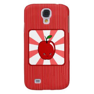 Kawaii Apple (Boy) Galaxy S4 Case