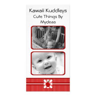 Kawaii Apple (Boy) Photo Card