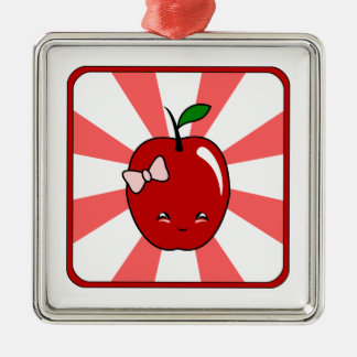 Kawaii Apple chica Ornato