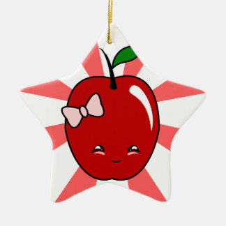 Kawaii Apple chica Adorno Para Reyes