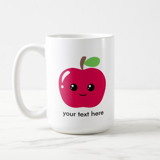 Kawaii Apple Coffee Mug