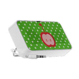 Kawaii Apple Doodle Speaker