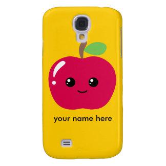 Kawaii Apple Galaxy S4 Cover
