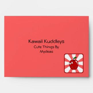 Kawaii Apple (Girl) Envelope