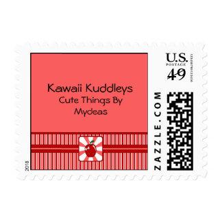 Kawaii Apple (Girl) Postage Stamp