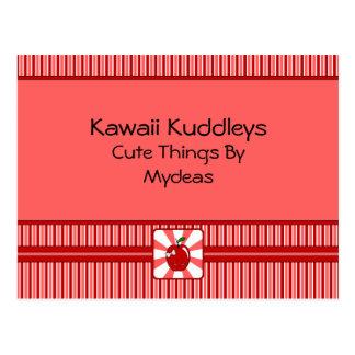 Kawaii Apple (Girl) Postcard
