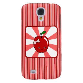 Kawaii Apple (Girl) Samsung Galaxy S4 Case