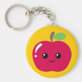 Kawaii Apple Llavero Personalizado