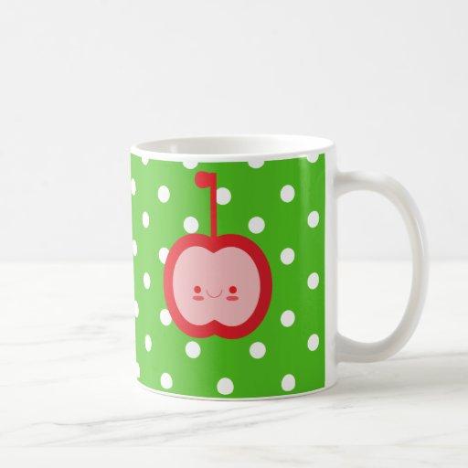 Kawaii Apple Mug