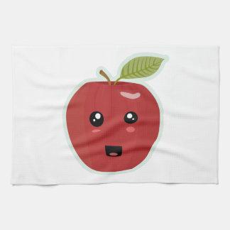 Kawaii Apple Toallas De Cocina