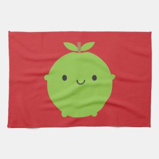 Kawaii Apple Toalla De Cocina