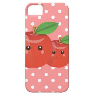 Kawaii Apple Pink iPhone Case
