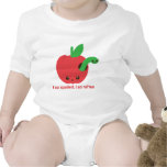 Kawaii Apple putrefacto Trajes De Bebé