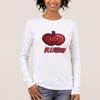 Kawaii Apple (red) Long Sleeve T-Shirt