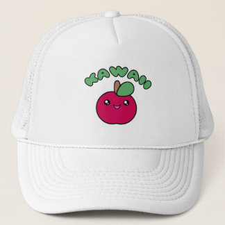 Kawaii Apple Trucker Hat