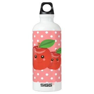 Kawaii Apples Aluminum Water Bottle