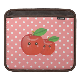 Kawaii Apples iPad Sleeve