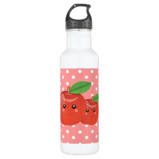 Kawaii Apples Stainless Steel Water Bottle