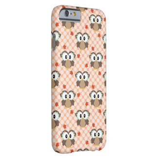 Kawaii Autumn Owl Barely There iPhone 6 Case