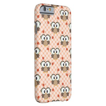 USA Themed Kawaii Autumn Owl Barely There iPhone 6 Case