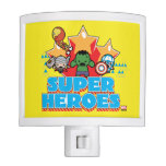 Kawaii Avenger Super Heroes Graphic Night Light