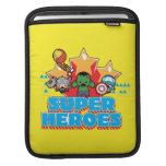 Kawaii Avenger Super Heroes Graphic Sleeve For iPads
