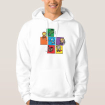 Kawaii Avengers In Colorful Blocks Hoodie