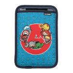 Kawaii Avengers Inside A-Logo Sleeve For iPad Mini