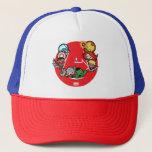 Kawaii Avengers Inside A-Logo Trucker Hat