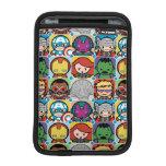 Kawaii Avengers Vs Ultron Pattern iPad Mini Sleeve