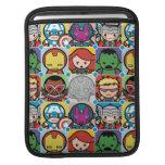 Kawaii Avengers Vs Ultron Pattern Sleeve For iPads