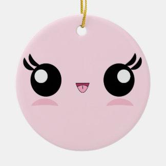 Kawaii Baby Face ornament