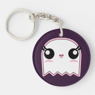 Kawaii Baby Ghost Halloween Keychain