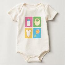 Kawaii Baby Items Baby Bodysuit