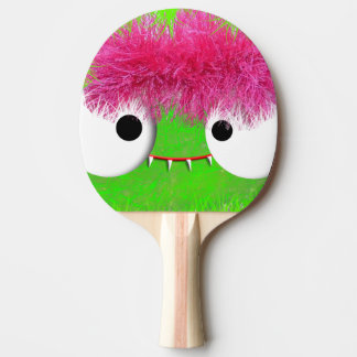 kawaii baby monster face Ping-Pong paddle