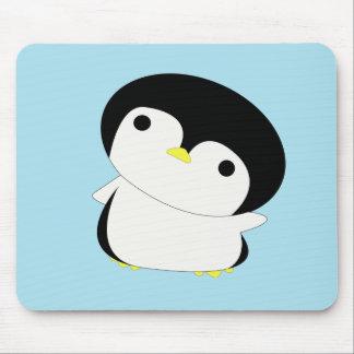 Kawaii baby penguin mousepad