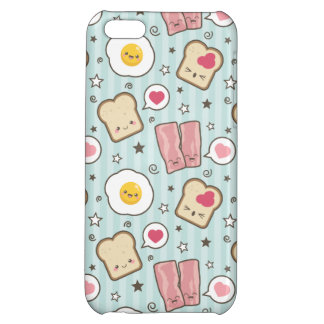 Kawaii Bacon & Fried Egg Deconstructed Sandwich Case For iPhone 5C