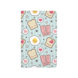 Kawaii Bacon & Fried Egg Deconstructed Sandwich Journal